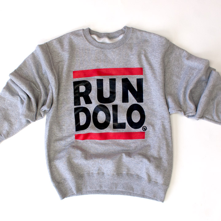 RUN DOLO CLASSIC SWEAT SHIRT G