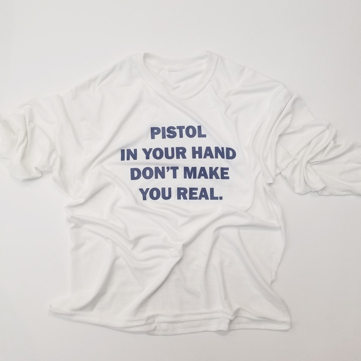 PISTOL IN YOUR HAND LS W